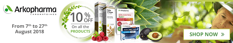 10% off on all the Arkopharma products