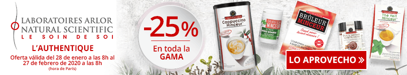 -25% en la gama Arlor Natural Scientific L'authentique