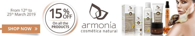 15% off on all the Armonia products