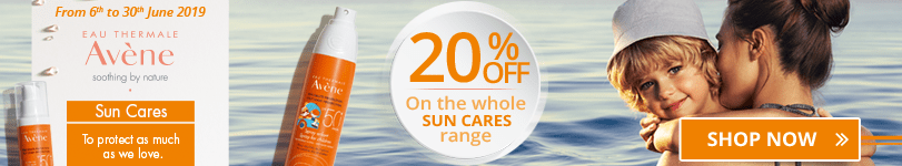 20% off on the whole Avène Sun Cares range