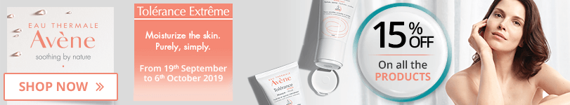 15% off on the whole Avène Extreme Tolerance range