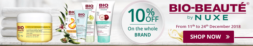 10% off on all the Bio Beauté products