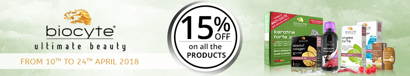 15% off on all the Biocyte products