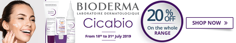 20% off on the whole Bioderma Cicabio range