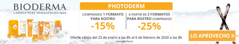 Oferta Bioderma Photoderm