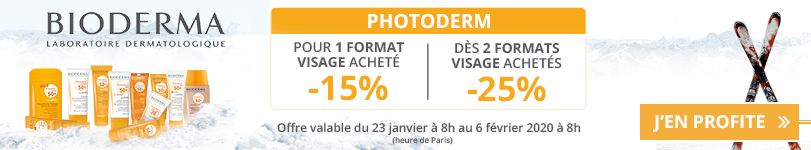 Offre Bioderma Photoderm