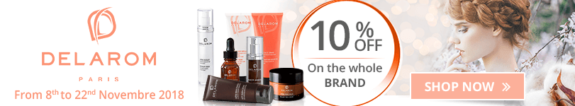 10% off on all the Delarom products