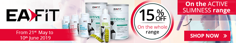 15% off on the whole Eafit Active Slimness range