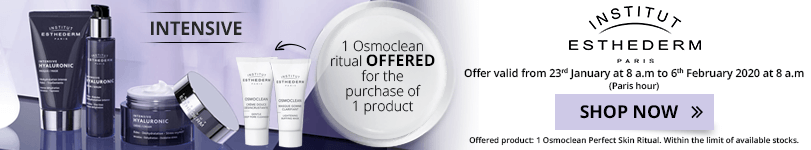 1 Institut Esthederm Intensive product purchased = 1 FREE Osmoclean Perfect Skin Ritual