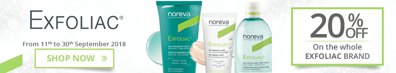 20% off on all the Exfoliac products