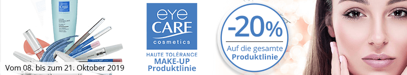 -20% auf alle Eye Care Make-up Produkte