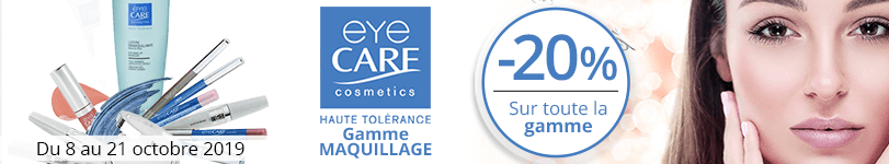 -20% sur la gamme Eye Care Maquillage