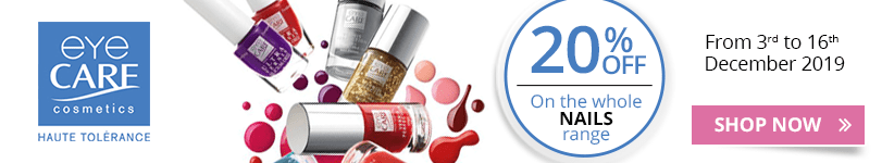 20% off on the whole Eye Care Nails range
