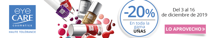 -20% en la gama Eye Care Uñas
