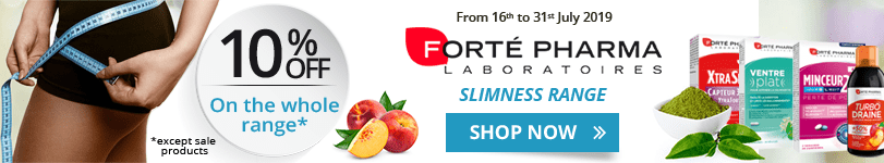 10% off on the whole Forté Pharma Slimness range