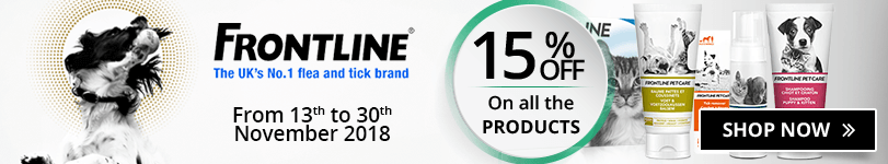 15% off on all the Frontline products