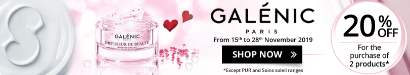 20% off on all the Galénic products
