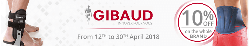 10% off on all the Gibaud products