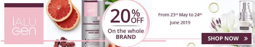 20% off on all the Ialugen products