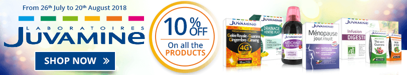 10% off on all the Juvamine products