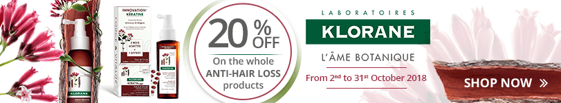 Klorane Anti-Hair Loss Offer: 20% off