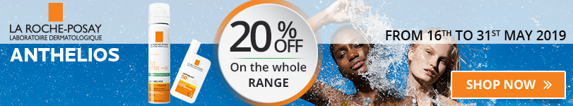 20% off on the whole La Roche-Posay Anthelios range