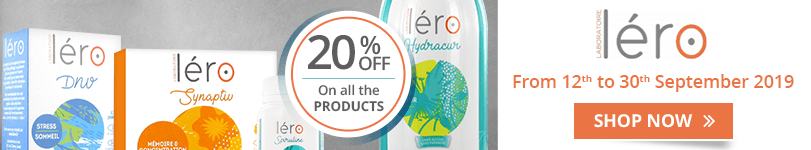 20% off on all the Léro products
