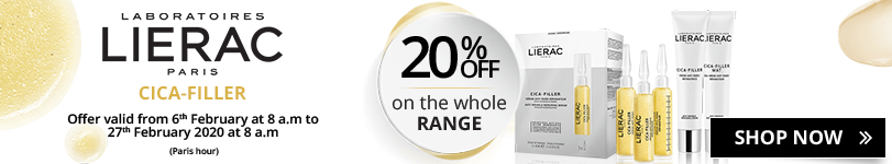 20% off on the whole Lierac Cica-Filler range