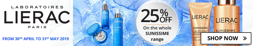 25% off on the whole Lierac Sunissime range