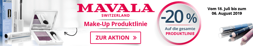 -20% auf alle Mavala Make-up Produkte