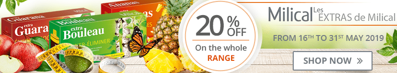 20% off on the whole Milical Extra range