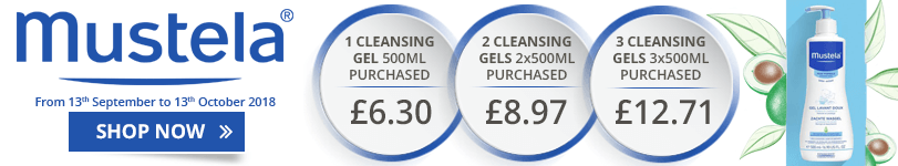 Mustela Gentle Cleansing Gel Offer