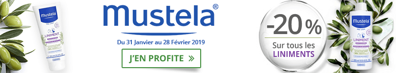 Offre Mustela Liniment: -20%