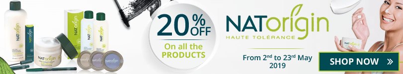 20% off on all the Natorigin products