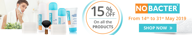 15% off on all the Nobacter products