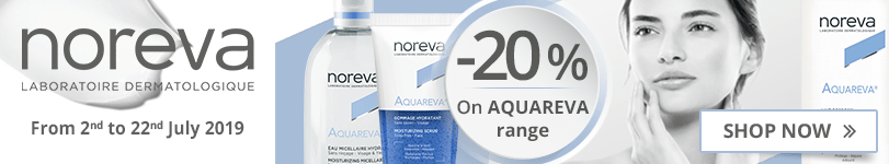 20% off on the whole Noreva Aquareva