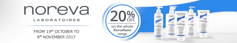 20% off on the whole Noreva Xerodiane Plus range