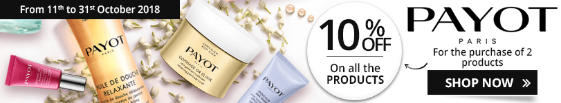 10% off on all the Payot products