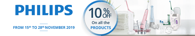 10% off on all the Philips products
