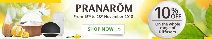 10% off on the whole Pranarôm Diffuser range