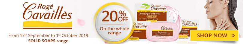 20% off on the whole Rogé Cavaillès Solid Soaps