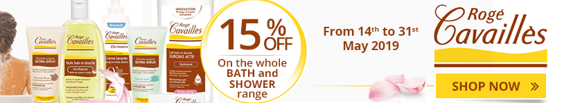 15% off on the whole Rogé Cavaillès Bath and Shower range