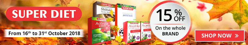 15% off on all the Super Diet products