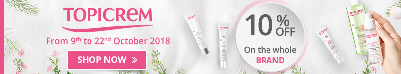 10% off on all the Topicrem products