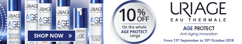 10% off on the whole Uriage Age Protect range